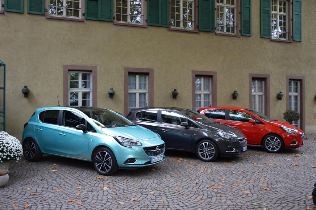 Opel Corsa E Farbauswahl
