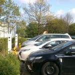 Universitäten mit Ladestationen für Elektroautos