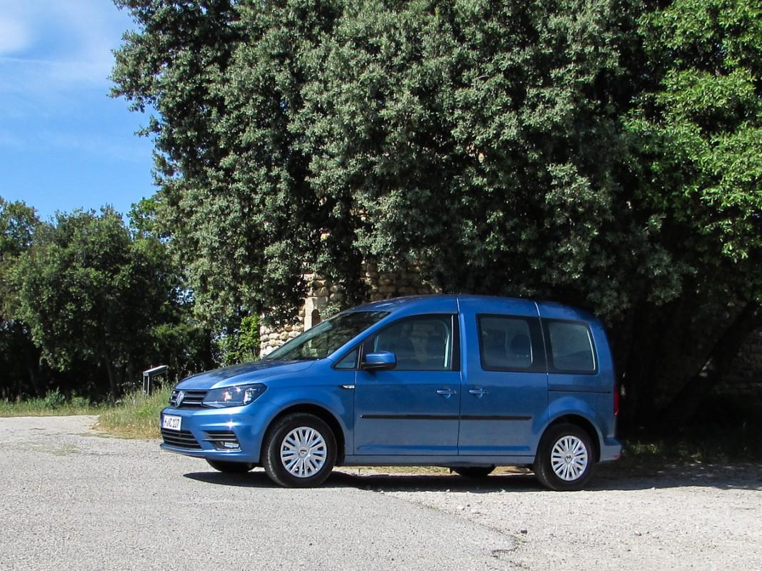 Caddy 4 blau